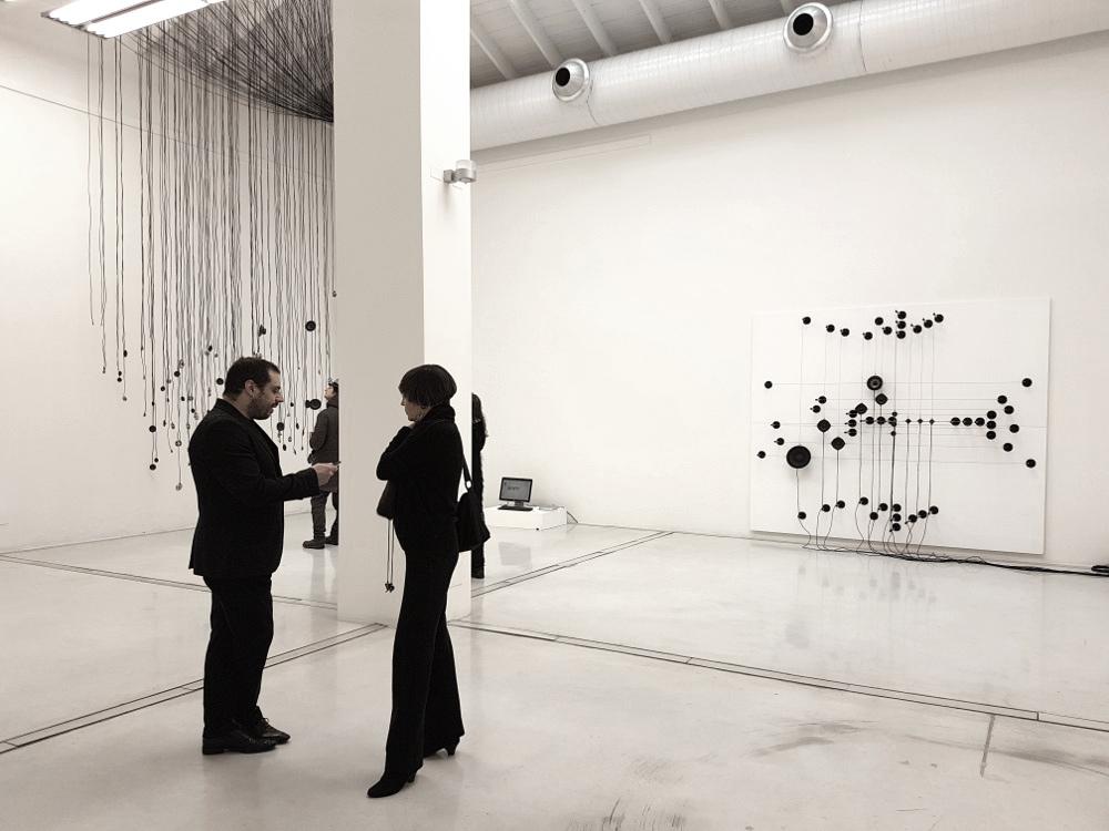 Roberto Pugliese: ritratto dell'artista presso Studio La Città - Verona, 2018